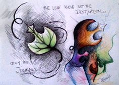 """The leaf knows not its destination, only the journey."" The Journey by mindless-pixie.deviantart.com on @deviantART"