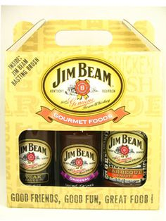 Steak Sauce (11 oz), Jim Beam BBQ Sauce (18 oz) and Jim Beam Marinade ...