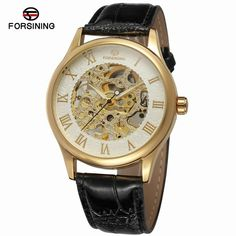 Good Price Forsining Transparent Skeleton Automatic Mechanical military watches brand men-Forsining Watch Company Limited www.forsining.com