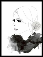 New Fashion Poster Illustration Pin Up Ideas Fashion Books, Fashion Art, Desenio Posters, Mode Collage, Tinta China, Poster Prints, Art Prints, Woman Drawing, Photo Illustration