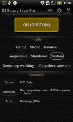 Deep Sleep Battery Saver puts the device to deepsleep mode while screen off | YouMobile