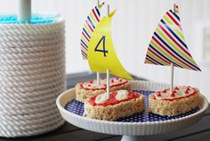 Sneak Peek of Stylish Kids' Parties Book by Kelly Lyden: Classic Nautical Party Ideas #stylishkidsparties #whhostess #nautical #preppy #sailboat #stripes #boyparties #kidsparties sailboat rice, stylish kids, parti idea, kid parties, sailboat race, nautic parti