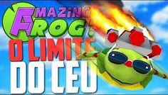 VOANDO ATÉ O LIMITE DO CÉU! - Amazing frog ‹ Bitgamer ›