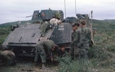 An M113 Armored Personnel Carrier attached to the 9th Infantry Division.