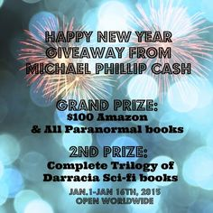 Happy New Year From Michael Phillip Cash-$100 Amazon GC #Giveaway #NewYear2015