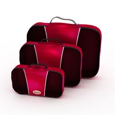 A versatile luggage accessory for business executive, vacationer, adventurer and sportsperson. Simplify travel Easy Pak a set of lightweight nylon packing cubes in small, medium and large sizes designed to organize and arrange clothes and accessories. Maximize travel bag space.