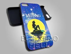 The Little Mermaid Disney Galaxy - iPhone 4/4s/5 Case - Samsung Galaxy S3/S4 Case - Black or White by ELECTROHELL on Etsy