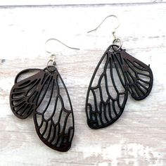 Coconut Butterfly Earrings