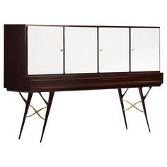 Italian Highboard Italian Furniture, Unique Furniture, Luxury Furniture, Furniture Ideas, Contemporary Interior Design, Luxury Interior Design, Antique Armoire, Modern Sideboard, Beautiful Curtains