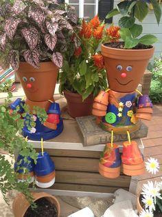 DIY Clay Pot Cuties That Will Make Your Garden Look Outstanding - Top Inspirations