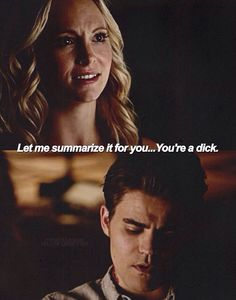 Everything about these two this season infuriates me. Get your shit together Stefan, she's your best friend! #TVD