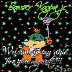 {Bowser Koopa jr Blingee}*!!!