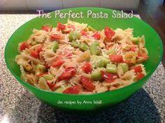 The Perfect Pasta Salad  recipe Won't spoil at picnics or summer parties