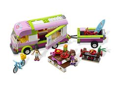 Take the LEGO® Friends fun anywhere with the Adventure Camper!