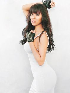 >Meagan Good is showing off her amazing body and curves in the new April issue of Men's Health Magazine. You got to give it to her, she looks HOT! Celebrity Look, Celebrity Pictures, Celebrity Crush, Megan Good, Black Actresses, Beauty News, Hair Journey, Height And Weight, Sexy Body