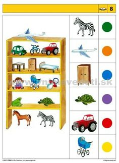 Logico Primo Hry na rozvoj reči - autokorektívne karty Logic Puzzles, 4 Kids, Speech Therapy, Kindergarten, Album, Learning, Maths, Worksheets, Numbers
