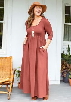 a68f8a88196 Country Drive Maxi Dress. Jane ClothingBoutique ...