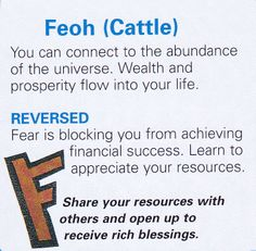 Feoh ( Cattle )