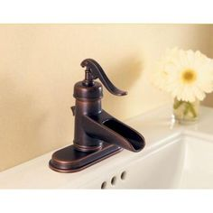 Centerset 1 Handle Bathroom Faucet In Rustic Bronze LF 042 YP0U   The Home  Depot