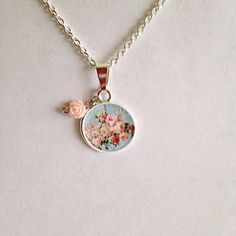 Hey, I found this really awesome Etsy listing at https://www.etsy.com/listing/228166451/vintage-roses-picture-charm-necklace
