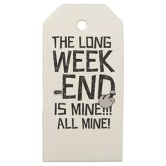 #Labor Day Long Weekend Long weekend Wooden Gift Tags - #LaborDay Labor Day #labor #day #patriotic #summer #barbecue #bbq #party