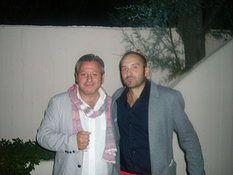 Con l'amico e artista SANTINO CARAVELLA da MADE IN SUD