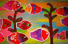 PAINTED PAPER: Karla Gerard, Folk Art Fish