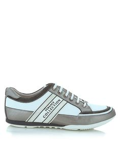 Logo trainers in silver white Sale - Versace