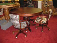 Many Finish Choices and Styles! Poker Table, Choices, Dining Table, Cushions, Furniture, Home Decor, Style, Throw Pillows, Swag