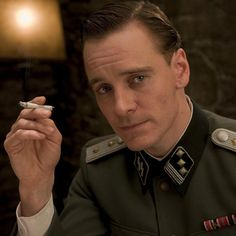 He is by far my favorite man of all time.     Michael Fassbender, Inglorious Basterds.