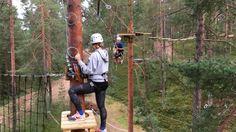 """64 Likes, 6 Comments - Vuokatin Seikkailupuisto (@vuokatinseikkailupuisto) on Instagram: """"Elämä on seikkailu!!! Pendel Jump 11m korkeudella tarjoaa varmasti huikean elämyksen!! 🙈…"""""""
