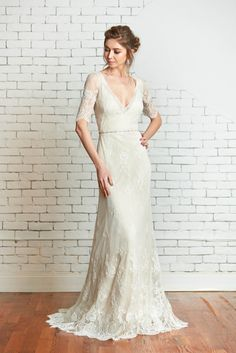 Rebecca Schoneveld Bridal | The Molly Gown | Handmade in Brooklyn