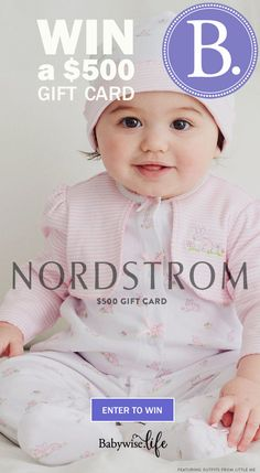 Win a $500 Buy Buy Baby eGift card! Win a $500 Nordstrom Gift Card! http://swee.ps/CQabHhPBo ty