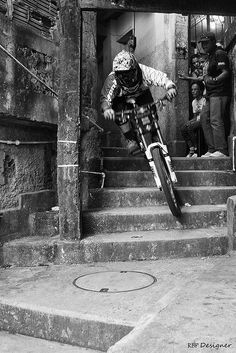 Downhill Red Bull. Rio de Janeiro, Brazil. #bike