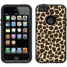 Giraffe design on OtterBox® Commuter Series® Case for iPhone 5