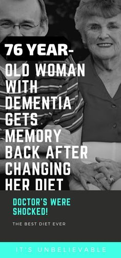 76 Year old woman with dementia gets memory back after changing her diet - Health Cleanse Health Cleanse, Health Diet, Health And Wellness, Brain Health, Health Fitness, Natural Cures, Natural Health, Alzheimer's And Dementia, Health