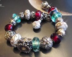 Another Christmas Bracelet :-)) From the Trollbeads Gallery Forum!