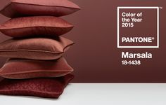 Marsala! The colour of 2015 according to Pantone. So obsessed