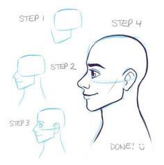Drawing cartoon faces guys Ideas – Art Drawing Tips Drawing Cartoon Faces, Cartoon Sketches, Cartoon Art, Cartoon Illustrations, Drawing Techniques, Drawing Tips, Drawing Sketches, Drawing Hair, Drawing Drawing