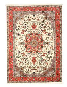 Tabriz 50 Raj silkkiloimi-matto 206x286