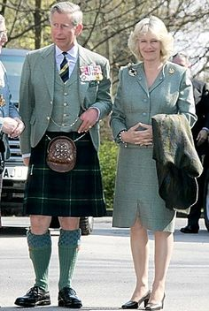 As Prince Charles enters his sixth decade, it seems the heir to the throne has been mimicking the dress sense and style of his wife Camilla - and vice versa. Scottish Dress, Scottish Fashion, Charles X, Camilla Duchess Of Cornwall, Royal Uk, Camilla Parker Bowles, Isabel Ii, Men In Kilts, Herzog