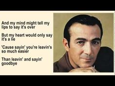 Faron Young - Leaving and Saying Goodbye with Lyrics - YouTube