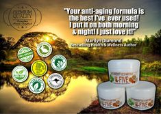 This is the BEST all-natural Anti-Aging cream I've used, and it works! You will feel its effect almost immediately...
