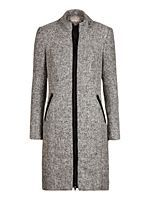 Wool mix coat