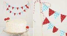 Cómo hacer un banderín para tu tarta | ¡Hoy no hay cole! Maybe One Day, Banner, Vanilla Cake, Holiday Decor, Birthday Cakes, Cupcakes, Party Ideas, Design, Fiestas
