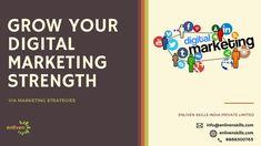 📚Power Your Digital Dreams 👩💻👨💻 ➡ Grow Your Digital Marketing Strength! Mobile Marketing, Online Marketing, Digital Marketing, Content Marketing Strategy, Social Media Marketing, Web Design Training, Social Media Updates, Search Engine Marketing, Marketing Professional