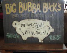 Big Bubba Buck's Belly Bustin' BBQ Bliss