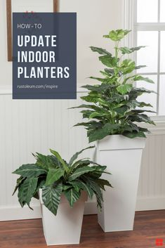 Bring faded planters up to date with a fresh palette of colors and finishes. No interior designer needed. Whether indoor, outdoor or vertical planters, pots, or a flower boxes, Here are some easy and affordable DIY ideas for how to update your plant stand in no time with Rust-Oleum Inspire, available now at @Lowes