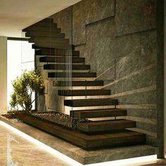 Beautiful Wood Stairs