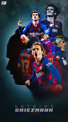 Barcelona Team, Fc Barcelona Players, Antoine Griezmann, Messi Champions League, Fc Barcelona Wallpapers, Football Background, Lionel Messi Wallpapers, Neymar Football, Cristiano Ronaldo Juventus